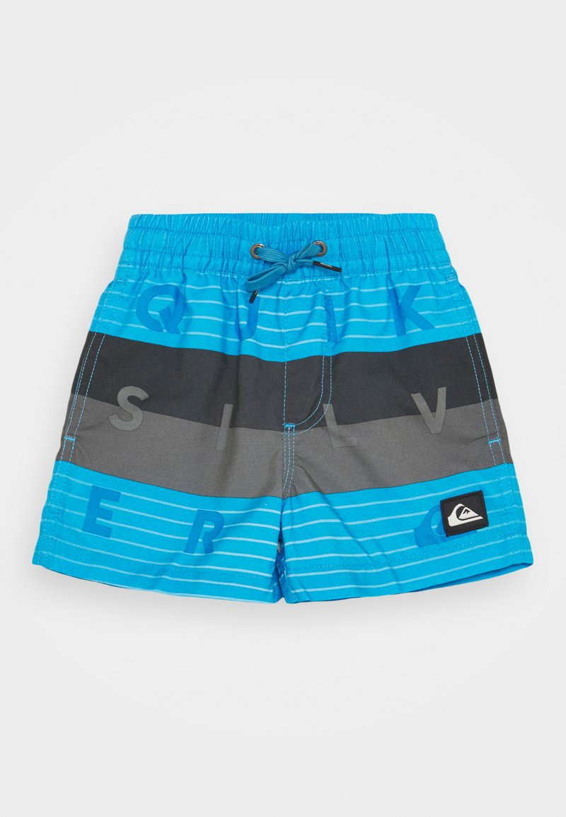 Quiksilver - WORD BLOCK VOLLEY BOY - Swimming shorts - blue