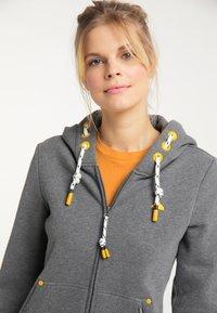 Schmuddelwedda - Zip-up sweatshirt - steingrau melange - 3