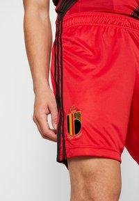 adidas Performance - BELGIUM RBFA HOME SHORTS - Short de sport - red - 4