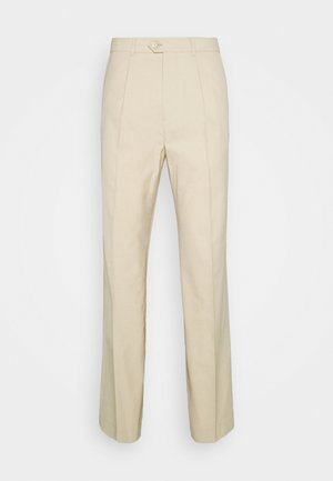 CONRAD WIDE TROUSERS - Broek - beige