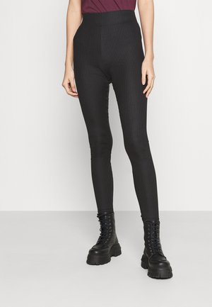 PCHAKA  - Leggings - Trousers - black