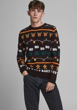 WEIHNACHTS - Pullover - black
