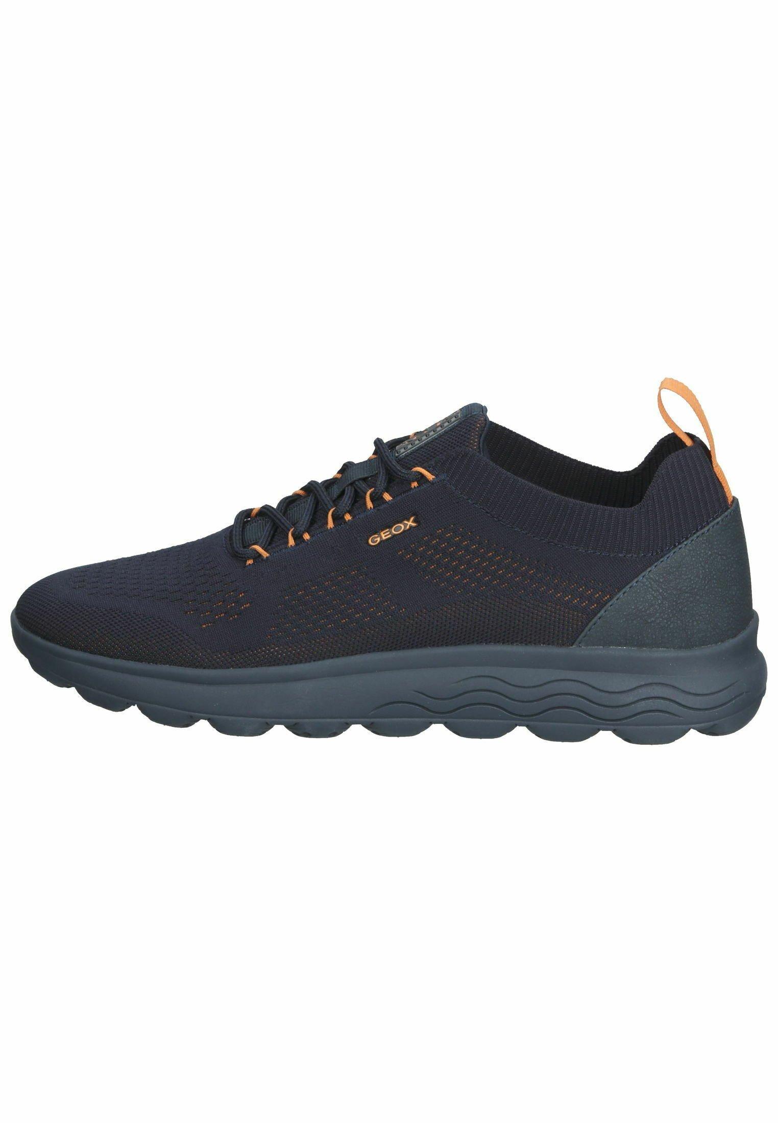 Herren Sneaker low - navy/orange