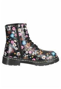 DOCKERS - Lace-up ankle boots - schwarz/orange - 5