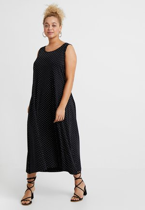 VMINA DRESS - Trikoomekko - black
