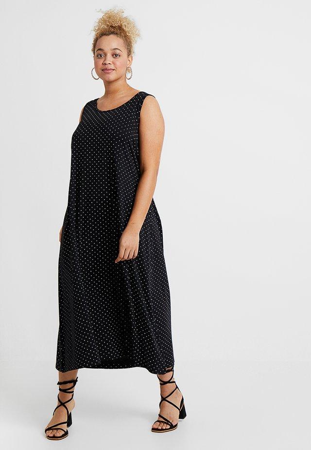 VMINA DRESS - Sukienka z dżerseju - black