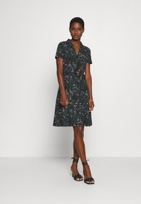 King Louie - EMMY DRESS MONTEREY - Denní šaty - black - 1
