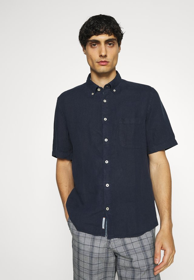 BUTTON DOWN SHORT SLEEVE - Overhemd - total eclipse