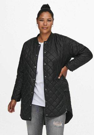 CURVY GESTEPPT - Light jacket - black