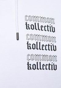 Common Kollectiv - GOTHIC HOOD UNISEX  - Hoodie - white - 6