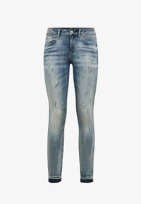 G-Star - Jeans Skinny Fit - antic faded lapo blue destroyed - 4
