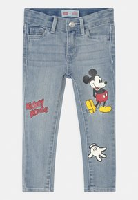 Levi's® - MICKEY MOUSE 710 SUPER SKINNY  - Jeans Skinny Fit - light-blue denim - 0