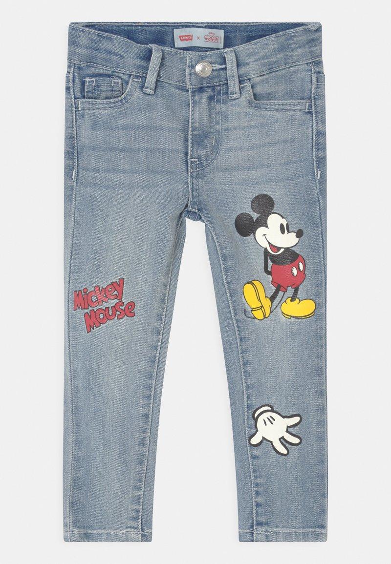 Levi's® - MICKEY MOUSE 710 SUPER SKINNY  - Jeans Skinny Fit - light-blue denim