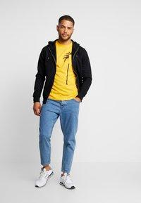 Solid - MORGAN - Zip-up hoodie - black - 1
