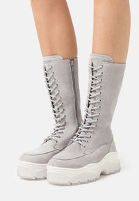 Bronx - JAXSTAR - Platform boots - ice grey - 0