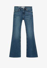 Mango - FLARE - Flared Jeans - bleu foncé - 6