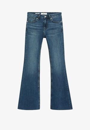 FLARE - Flared Jeans - bleu foncé