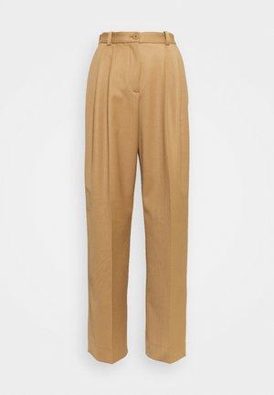 VALENTINA - Trousers - nougat
