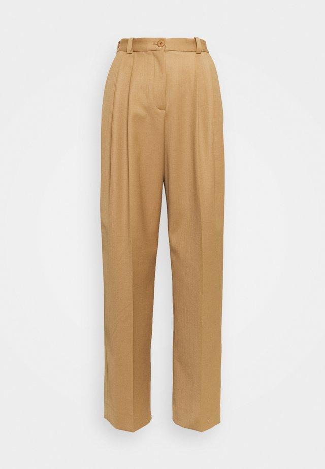 VALENTINA - Pantaloni - nougat