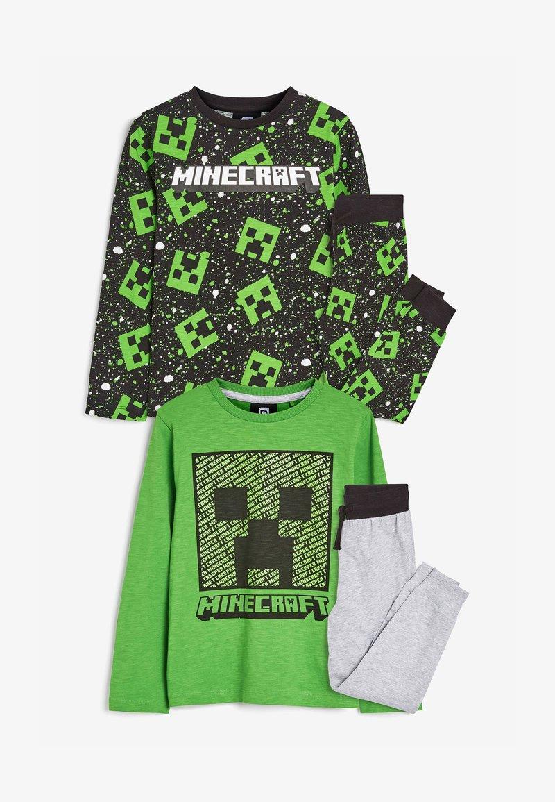 Next - MINECRAFT2 PACK PYJAMAS - Pyžamo - green
