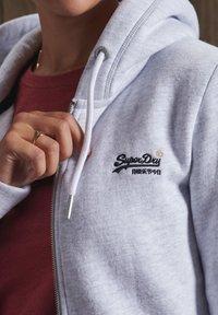 Superdry - ORANGE LABEL ZIP HOODIE - Zip-up sweatshirt - ice marl - 2