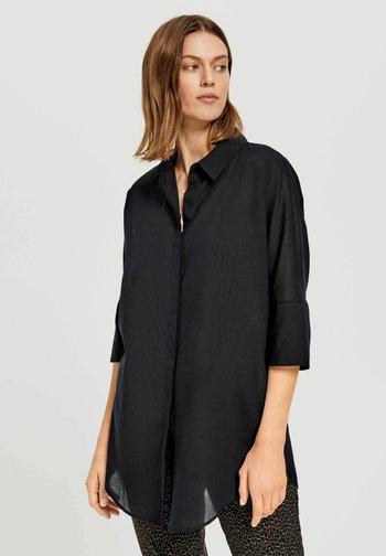 FRITZI - Button-down blouse - schwarz