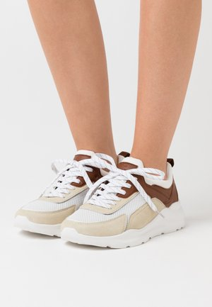 LEATHER - Joggesko - beige