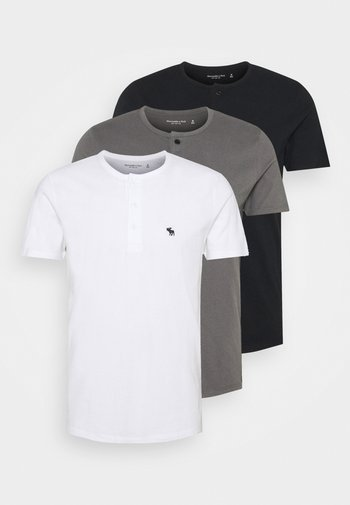NEUTRAL HENLEY 3 PACK