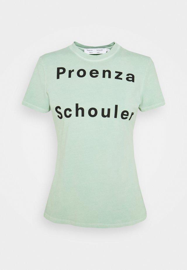 SOLID LOGO  - T-shirt imprimé - spearmint