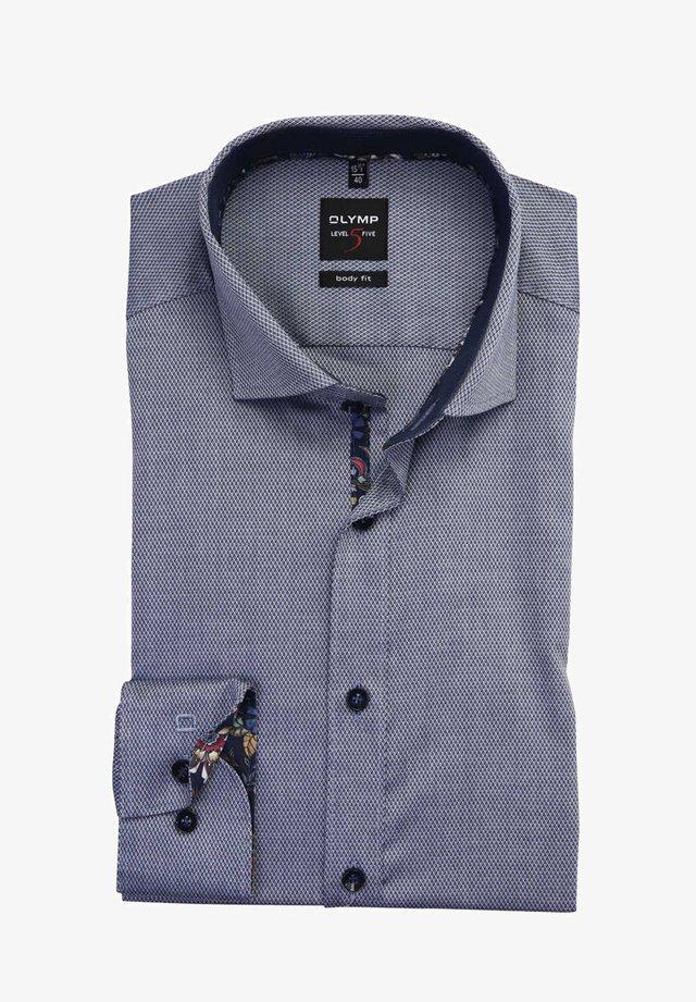 LEVEL FIVE BODY FIT - Shirt - dunkelblau