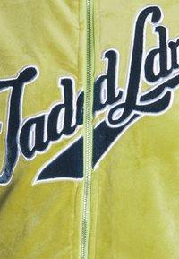 Jaded London - Zip-up sweatshirt - green/blue - 2
