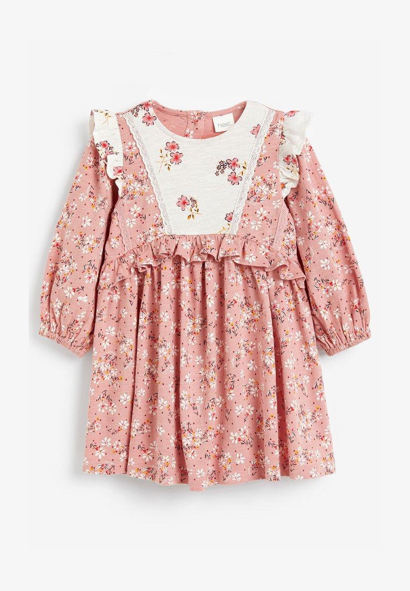 Next - FRILL MIX  - Day dress - pink