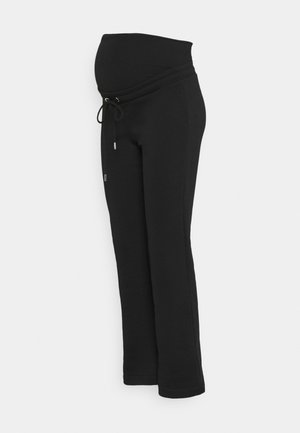 TROUSERS ROSE MOM - Spodnie treningowe - black