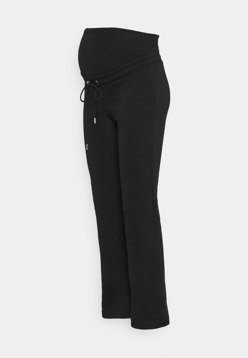 Lindex - TROUSERS ROSE MOM - Tracksuit bottoms - black