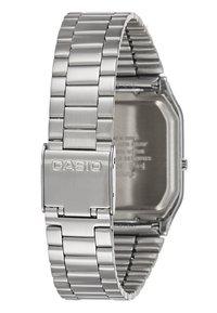 Casio - Watch - silver-coloured/black - 3