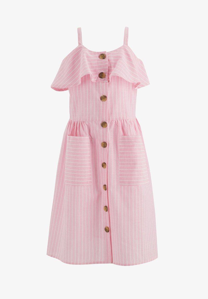 DeFacto - Shirt dress - pink
