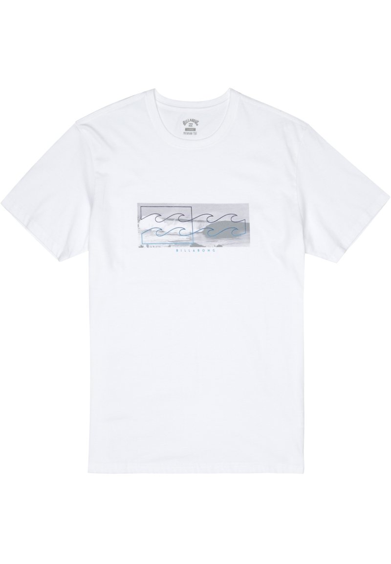 Billabong - INVERSE  - Print T-shirt - white
