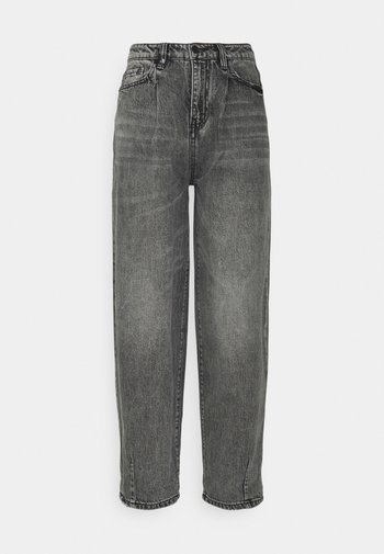 Relaxed fit jeans - grey denim