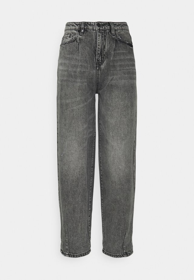 Jeans baggy - grey denim