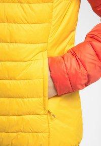 Haglöfs - SPIRE MIMIC HOOD  - Winter jacket - pumpkin yellow/habanero - 3