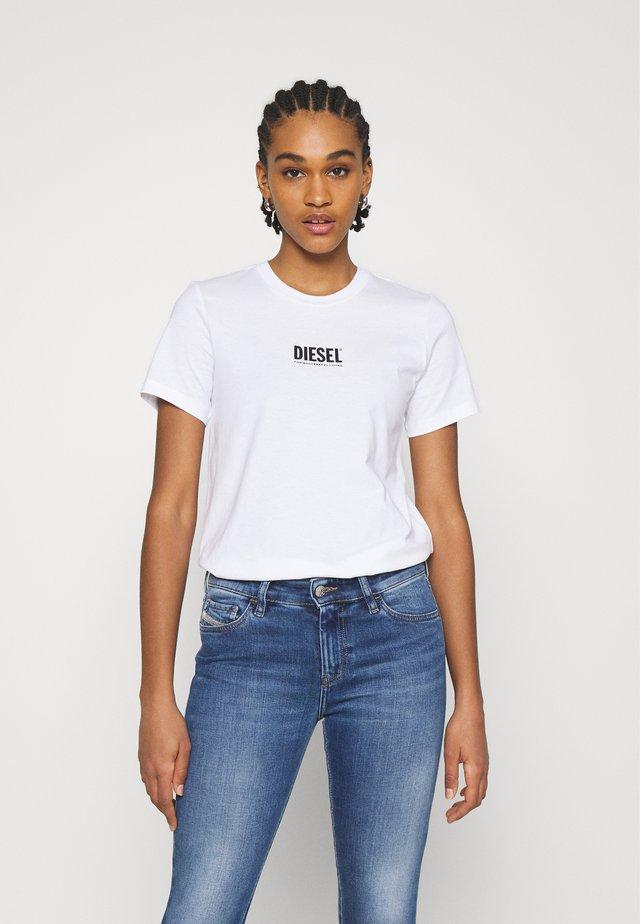 T-SILY-SMALLLOGO - T-shirt imprimé - white