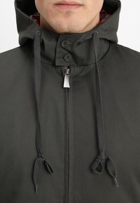 HARRINGTON - HOODED - Lehká bunda - kaki - 5