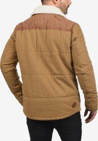 Solid - FERDINAND - Winter jacket - light brown - 1
