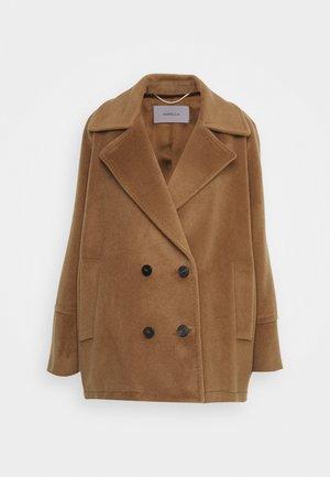 CORTONA - Classic coat - nocciola