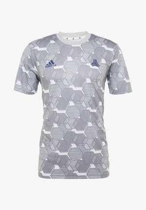 TAN - Print T-shirt - grey three