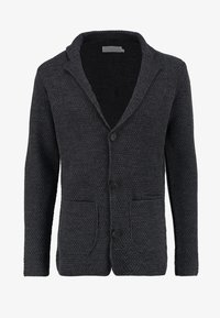 Pier One - Strikjakke /Cardigans - mottled dark grey - 5