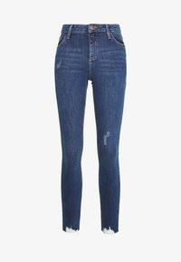 Dorothy Perkins - NIBBLE DARCY - Jeans Skinny Fit - indigo - 6