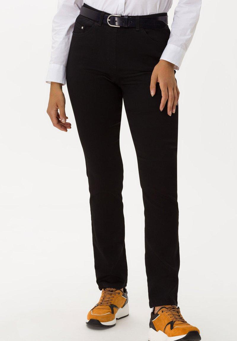 BRAX - STYLE LAVINA - Slim fit jeans - black