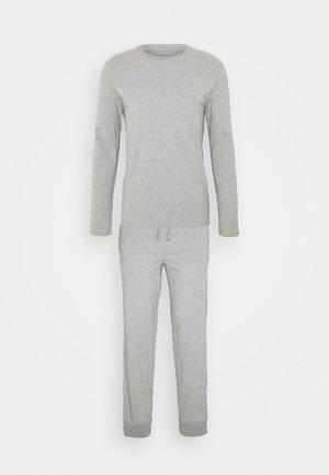SET - Yöasusetti - mottled grey