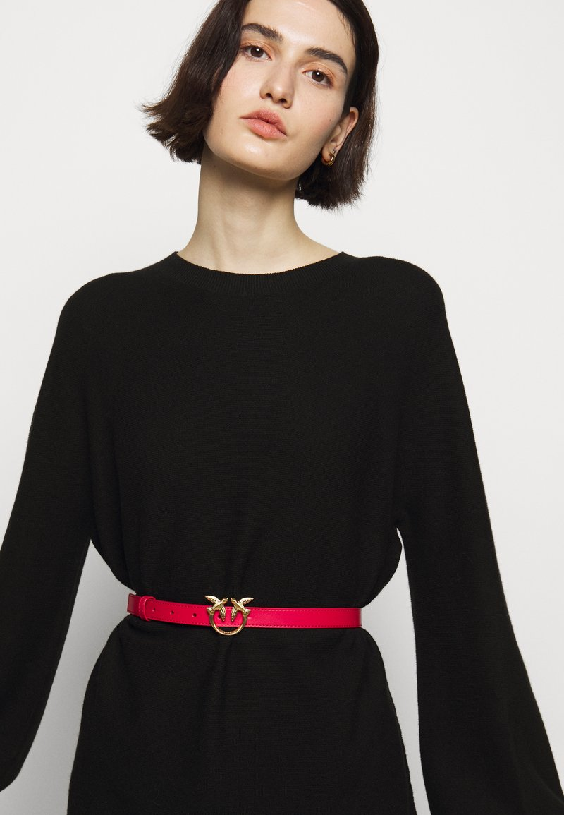 Pinko - LOVE BERRY SMALL SIMPLY BELT - Ceinture - red